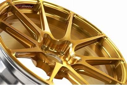 Gold Tinted Ga1r Transparent Lug Open Forgeline