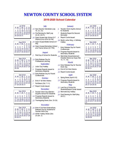 hall county school calendar world printable chart