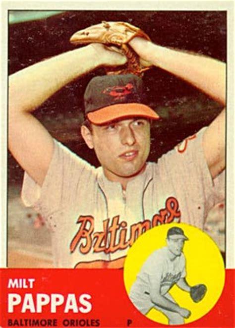 topps milt pappas  baseball card  price guide