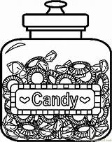Caramelle Licorice Candyland Twizzlers Chucherias Coloringpages101 Tarros Stampa sketch template