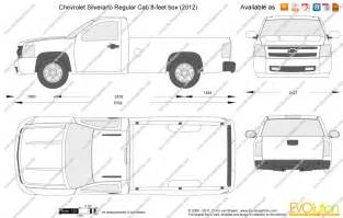 the blueprints com vector drawing chevrolet silverado