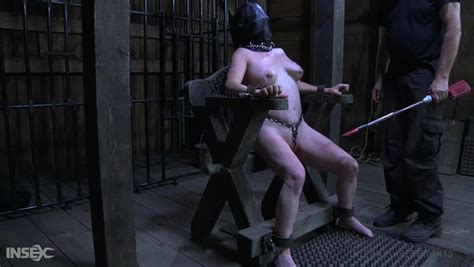 Obedient Chubby Whore With Leather Slaved Mask Femcar Gets