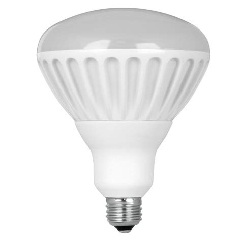 utilitech 17 watt 65w br40 soft white 2700k led flood