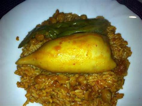 recette de cuisine tunisienne recette de riz au calamars farcis recette tunisienne