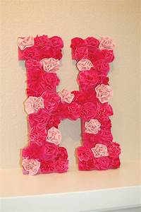 floral letter wall decor wonderfuldiycom With floral letter decor