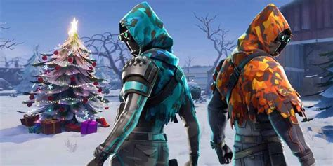 fortnite la temporada   tematica invernal  navidena