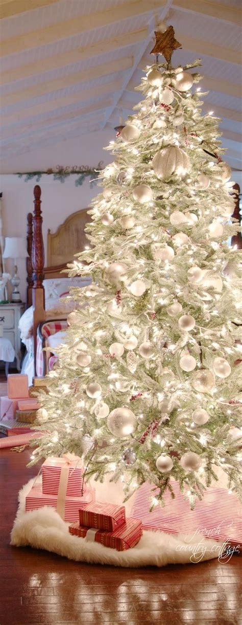 a very merry christmas tree from french country cottage