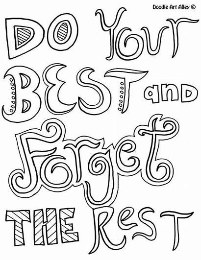 Coloring Positive Pages Quotes Quotesgram