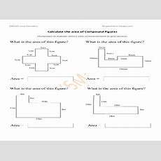 Perimeter And Area Of Composite Figures Worksheet Answers The Best Worksheets Image Collection