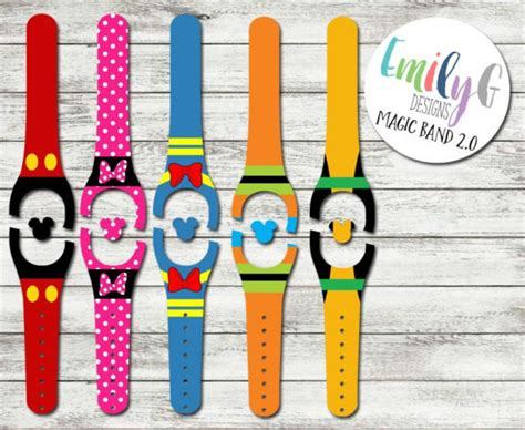 magic band 2 0 accessorize in style for disney with magicband 2 0 decals