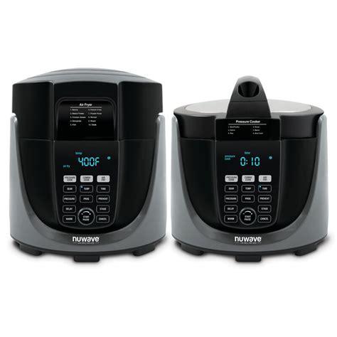 fryer combo cooker air pressure nuwave duet liter wayfair