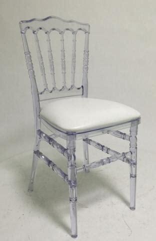 chaise napoleon iii polycarbonate transparente