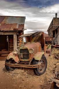 Abandoned Old Rusty Cars and Trucks