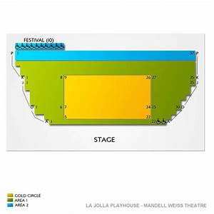 La Jolla Playhouse Mandell Weiss Theatre Seating Chart