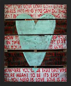 creative and traditional pallet ideas wooden pallet With what kind of paint to use on kitchen cabinets for song lyric wall art