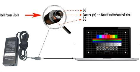 laptop netzteil zum basteln welche buchse