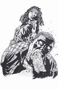 'Michonne' (The Walking Dead Comic) by WolfysKitty on ...