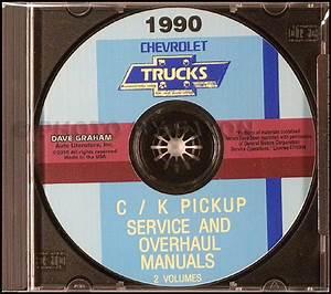 1990 Gmc C  K Sierra Pickup Repair Shop Manual Original
