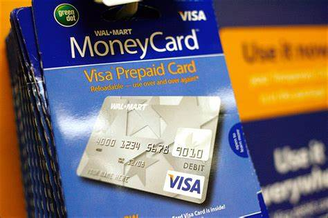The koho prepaid credit card comes in a virtual format, perfect for online shopping. Pre-paid Wal-Mart Visa cards attract those who shy away from banks