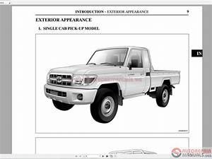 Wiring Diagram Toyota 70 Series