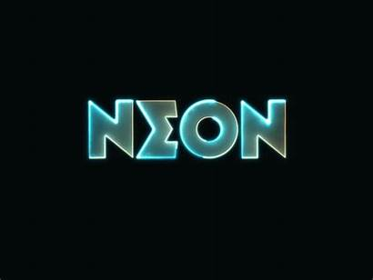 Neon Text Animation Effects Saber Dribbble Effect