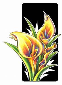Calla Lilies by Uken on DeviantArt