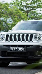 Wallpaper Jeep Renegade Limited, white, SUV, Cars & Bikes
