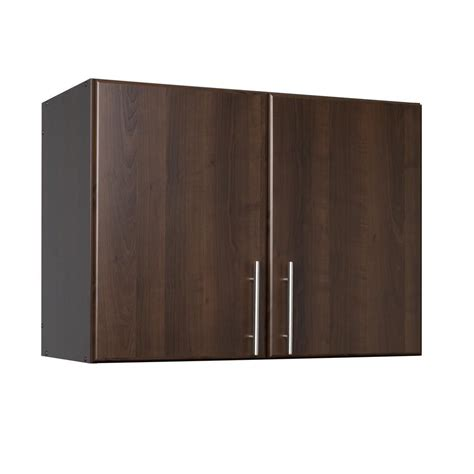 home depot wall cabinets prepac espresso elite 32 stackable wall cabinet the home