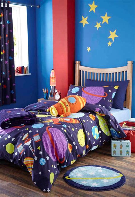 outer space bedroom boys space rocket outer space bedding or curtains or