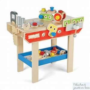 Atelier De Bricolage : pour jouer au bricoleur bel atelier en bois avec outils 43 ~ Melissatoandfro.com Idées de Décoration