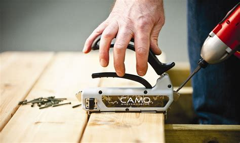 camo deck fasteners hardwood camo deck fastening system