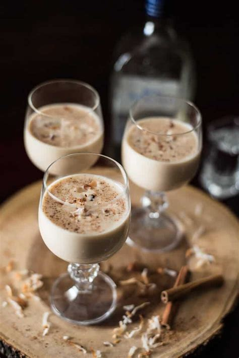 puerto rican coquito  crumby kitchen
