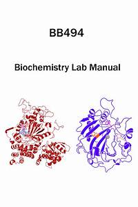 Cover  U2013 Chemical Biology  U0026 Biochemistry Laboratory Using