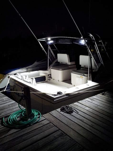 Deck Boat Lights by Led Deck Lights The Hull Boating And Fishing Forum