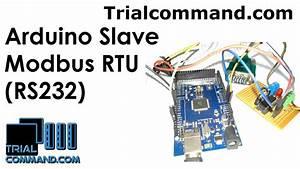 Arduino Mega 2560 Slave Modbus Rtu  Rs232