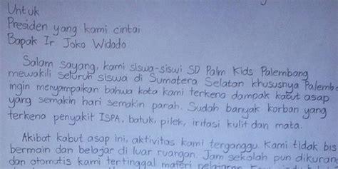 Aborsi Cepat Aceh Takut Tak Naik Kelas Karena Asap Siswa Sd Kirim Surat