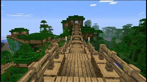 minecraft treehouse  map  youtube
