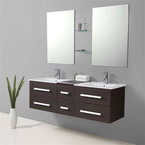 id 233 e meuble salle de bain wenge pas cher