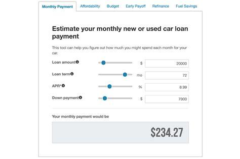 car loan calculators    shop roadloans