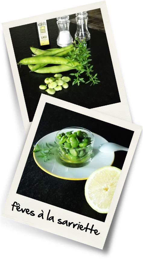 sarriette cuisine feves a la sarriette christiane cuisine