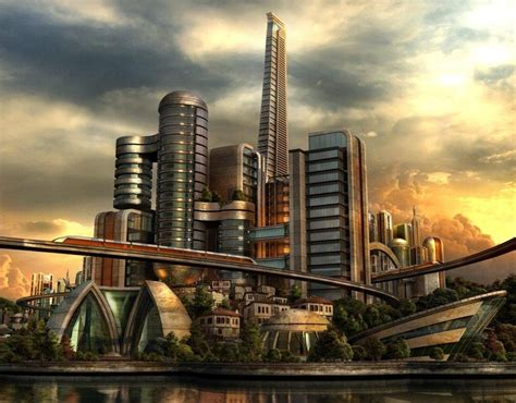 30 amazing future city illustrations creative