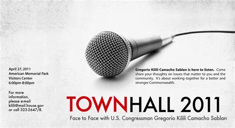 Town Hall Meeting Invitation Template Image Mag