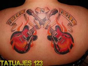 Tatuajes inspirados en el Rock and Roll