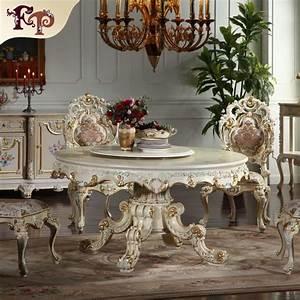Italienische Möbel Esszimmer : italienischen stil esszimmer m bel runden esstisch ~ Lateststills.com Haus und Dekorationen
