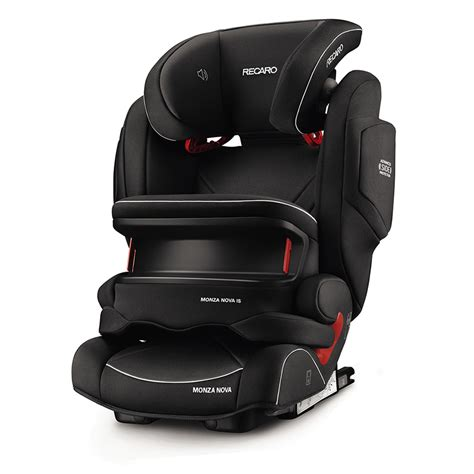 siege auto groupe 2 3 recaro siège auto monza is seatfix performance black