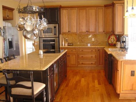 i kitchen cabinet kitchen white granite with maple cabinets for 1760