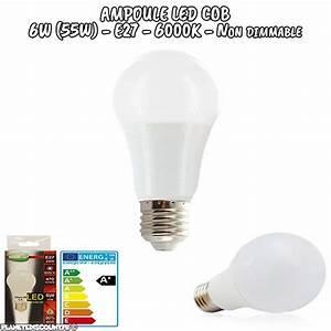 Ampoule Led Blanc Froid : ampoule led cob ampoule led cob e27 6w blanc froid ~ Edinachiropracticcenter.com Idées de Décoration