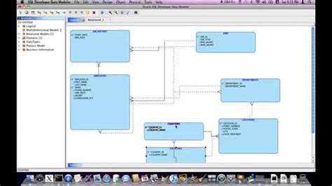 oracle sql developer data modeler reverse engineering