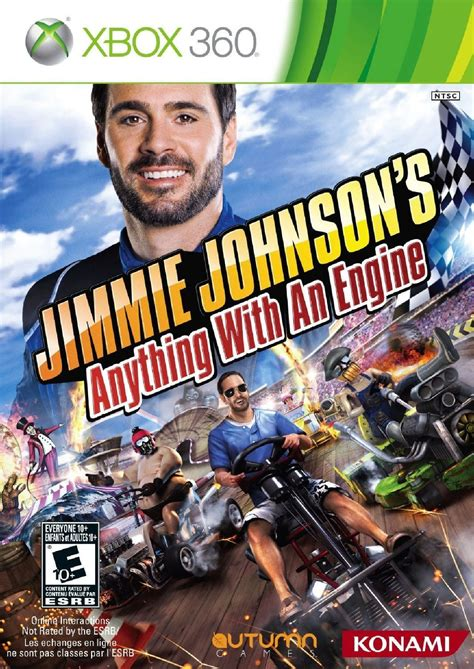 Jimmie Johnsons Anything With An Engine Xbox 360