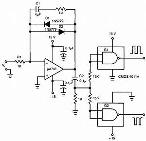 Build A Voltage To Frequency Converter Circuit Diagram 3